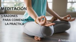 Meditación: 5 razones por las que comenzar a practicar yoga