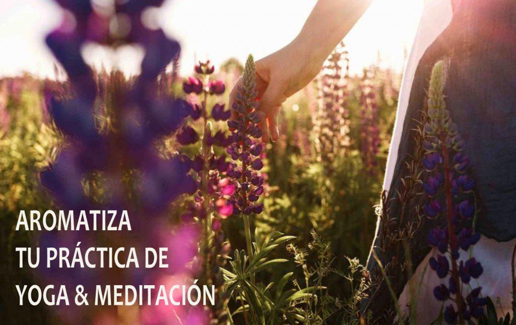 Aromatiza tu práctica de Yoga & Meditación