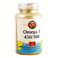 Omega 3 450/300 60 Perlas - Solaray