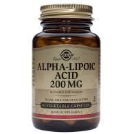 Acido Alfa Lipóico 200mg 50Cap - Solgar