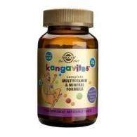 Kangavites Multivitaminico Frutas Bosque 60 Comp - Solgar