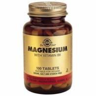 Magnesio + B6 100 Comp - Solgar