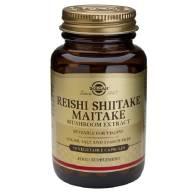 Reishi Shiitake Maitake 50 Cap - Solgar