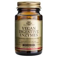 Vegan Enzimas Digestivas 50 Comp - Solgar