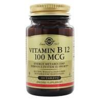 Vitamina B12 100 mcg 100 Comp - Solgar