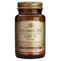 Vitamina D3 2200 IU 50 Cap - Solgar