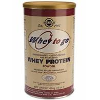 Whey to Go Chocolate 454 gr - Solgar