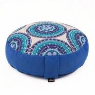 Cojín Rondo Plano Mandala Azul - Bodhi