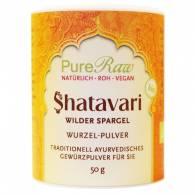 Shatavari en Polvo 80 gr - PureRaw®