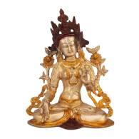 Estatua Tara Dorada 23 cm