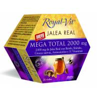 Royal Vit - Jalea Mega Total 2000 mg 20 Viales - Dietisa