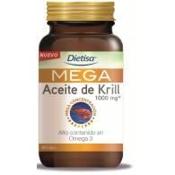 MEGA Aceite de Krill 1000 mg 60 Perlas Dietisa