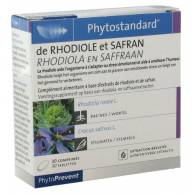 Rhodiola + Azafran 30 Comp - Phytostandard