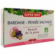 Bardana Pensamiento Silvestre 20 Amp 15 ml - Super Diet
