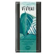 Chocolate Negro 40% Relleno de Menta 100 Gr - Vivani