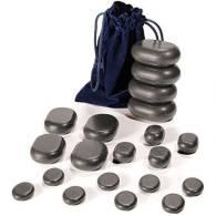 Set Piedras Termicas Basalto 20 Uni - TAOLine