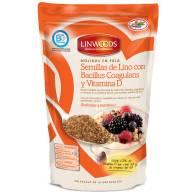 Semillas Lino Molidas + Bacillus Coagulans y Vit D - Linwoods