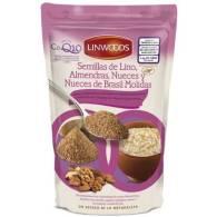 Semillas de Lino + Nueces + Almendras + Nueces de Brasil y CoQ10 - Linwoods