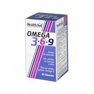 Omega 3-6-9 60Caps - Health Aid