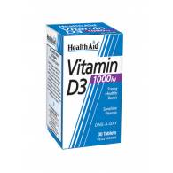 Vitamina D3 1.000 UI  30 tab - Heath Aid