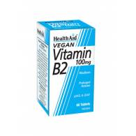 Vitamina B2 100mg 60Comp - Health Aid