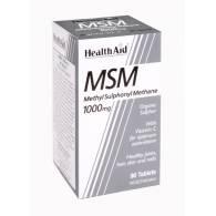 MSM 1000mg 90Caps - Health Aid