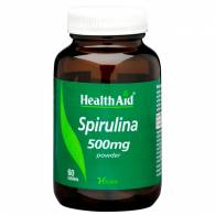 Espirulina 500 mg 60 Comp - Health Aid