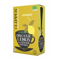 Organic Lemon & Ginger 20 Filtros - Clipper