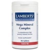 Mega Mineral Complex 90 Comp - Lamberts