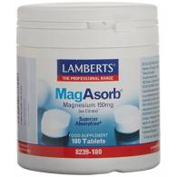 MagAsorb 150 mg 180 Comp - Lamberts