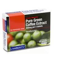 Cafe Verde Extracto Puro 60 Comp - Lamberts