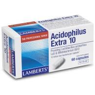 Acidophilus Extra 10 60 Cap - Lamberts