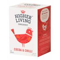Infusión de Cacao & Chili 15 Bolsas - Higher Living