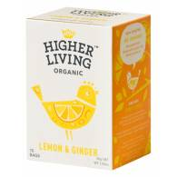 Infusión Jengibre y Limón 15 Bolsas - Higher Living