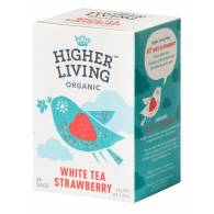 Té Blanco con Fresa 20 Bolsas - Higher Living