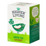Té Verde con Coco 20 Bolsas - Higher Living