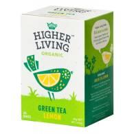 Té Verde con Limón 20 Bolsas - Higher Living