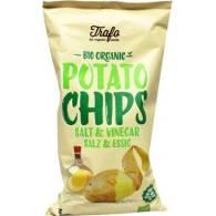 Papas Chips con Sal Marina y Vinagre 125 gr - La Finestra