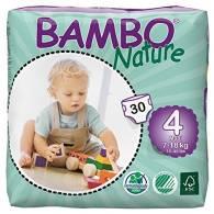 Pañal Maxi Talla 4 - 30 Uni - Bamboo