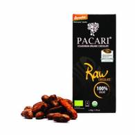 Chocolate 100% Cacao 50 Gr Sin Azucar - Pacari