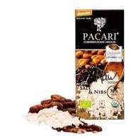 Chocolate + Sal en Grano y Trozos de Cacao 50 Gr - Pacari