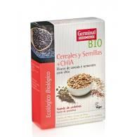 Copos Cereales y Semillas con Chia 250 gr - Germinal
