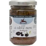 Pate Aceitunas Negras 130 gr - Alce Nero