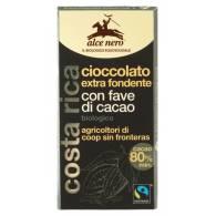 Chocolate Negro Extra Fondant 80% - Alce Nero