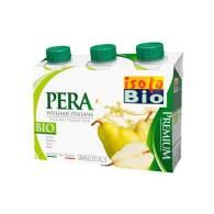 Zumo Pera 3 x 200 ml - Isola Bio