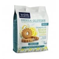 Galletas Girasol Maiz y Arroz al Limon Bio - Sottolestelle