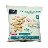 Snack de Lentejas y Cebolla Bio Sin Gluten - Sottolestelle