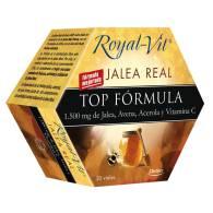 Royal Vit - Jalea Real Top Fórmula 20 Viales - Dietisa