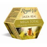 Royal Vit - Jalea Real Mega Total 1500mg 20 Viales - Dietisa
