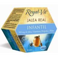 Royal Vit - Jalea Real Infantil 20 Viales - Dietisa